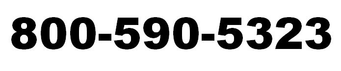 CALL 800-590-5323